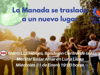 """Biomagia en """"Plaza de los Héroes de la Concepción"""" """"Meditar, Bailar, Amar en Luna Llena""""  Vuelo N°12"""