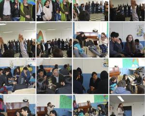 Con jóvenes del Programa Maestro Ciudadano