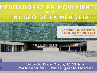 Meditadores en Movimiento en el Museo de la Memoria y los Derechos Humanos