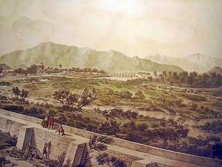 """LA """"GRAN AVENIDA"""" DE 1783: EL DÍA QUE EL RÍO MAPOCHO CASI DESTRUYE SANTIAGO"""