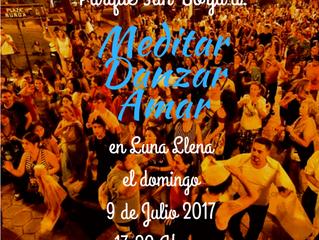 Meditar, Danzar, Amar en Luna Llena Vuelo N°121 Bienvenidos a la Buena Convivencia