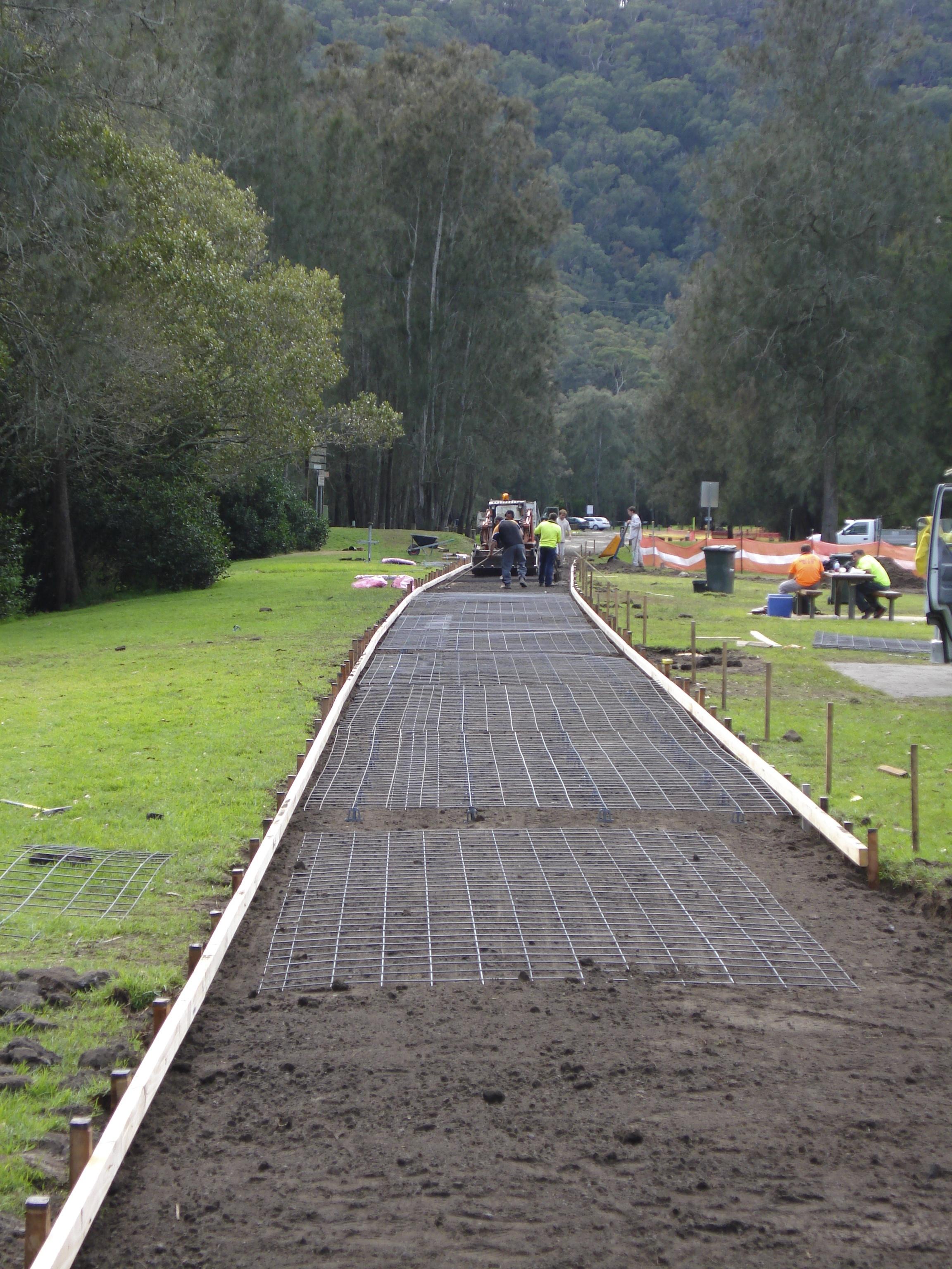 Newcastle Concrete Driveway