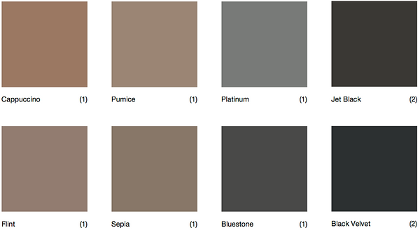 Darker colour options from Newcastle Concretin