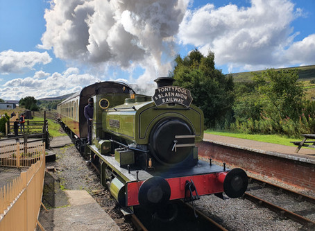 STEAM RETURNS TO BLAENAVON!