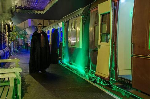 Halloween Ghost Train header