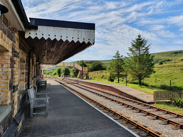 Furnace Sidings Station 12th July 202
