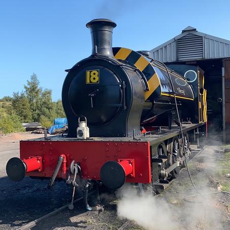LOCOMOTIVE UPDATE: 'Jessie' returns to service!