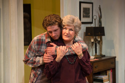 Gregory Boover & Annette Miller as Leo & Vera