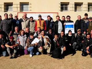 Encontro de falcoaria na Argentina reúne falcoeiros da América Latina