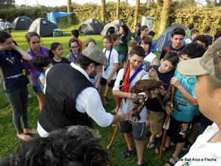 Educação ambiental no acampamento de escoteiros do Colégio Medianeira