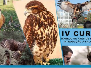 IV Curso de Manejo de Aves de Rapina e Introdução à Falcoaria
