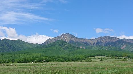 晴れ晴れと八ヶ岳