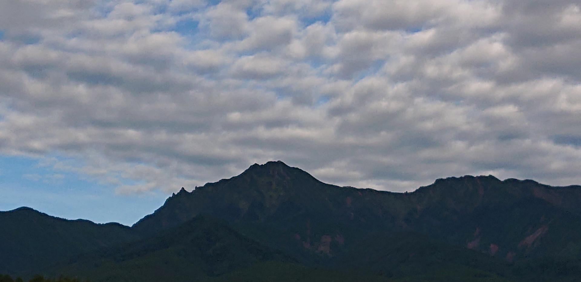雲多き八ヶ岳