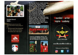 WWUA Wounded Warrior Umpire Academy Broc