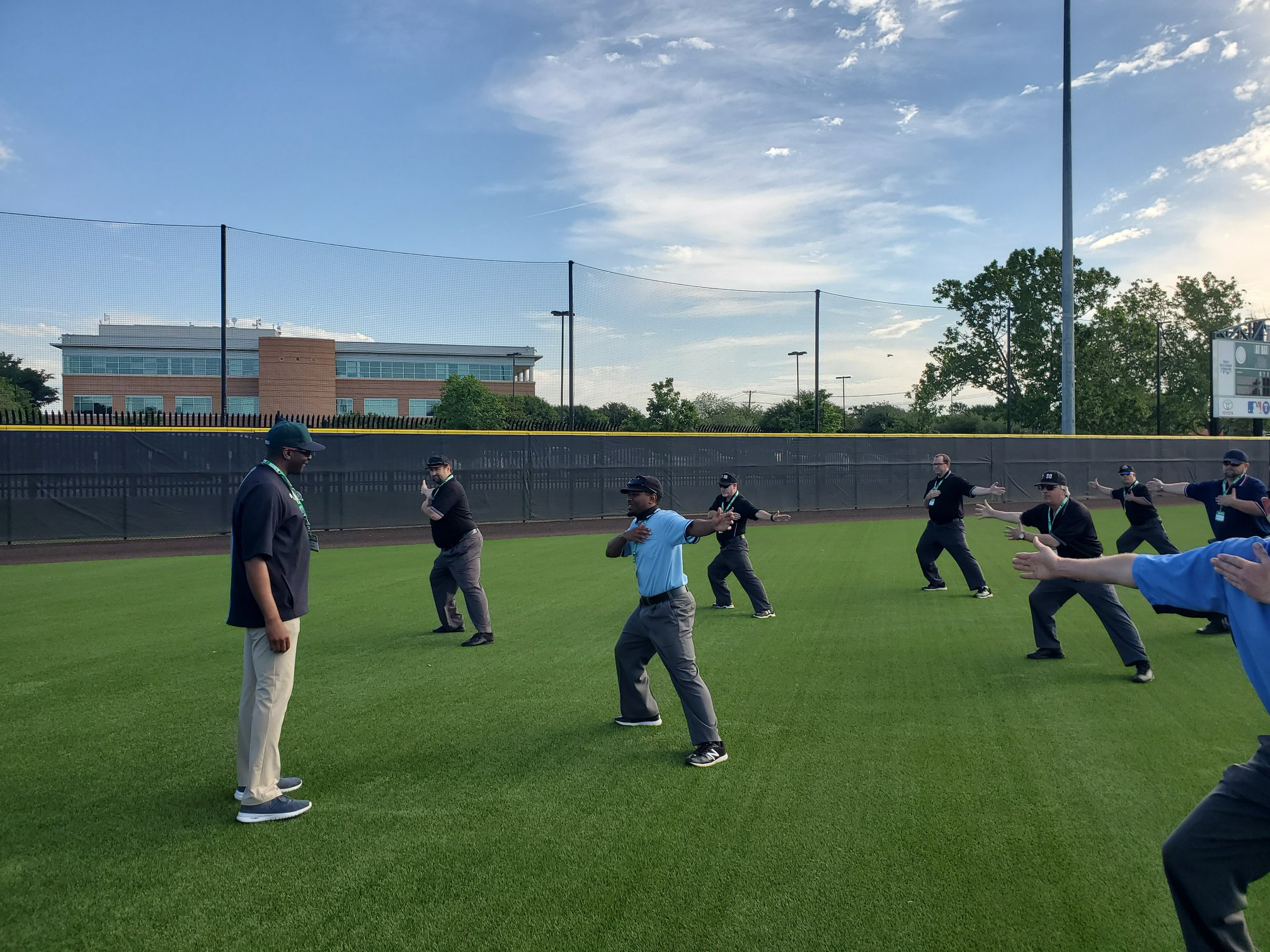 MLB Umpire Camps Training 12.0