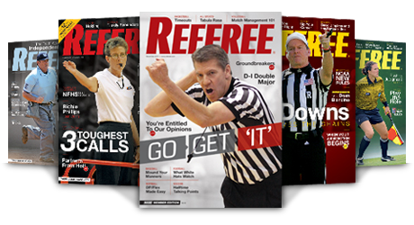 Referee Magazine Covers