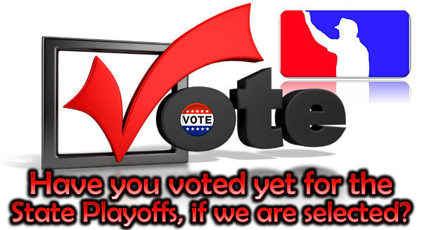 Cover Page - Vote State Playoff Umpires