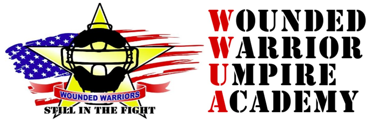 WWUA Wounded Warrior Umpire Academy Logo