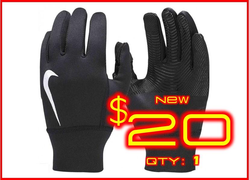 Large│Nike Therma Gloves Black