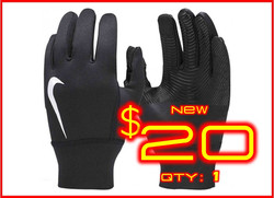 Large│Nike Therma Gloves Black