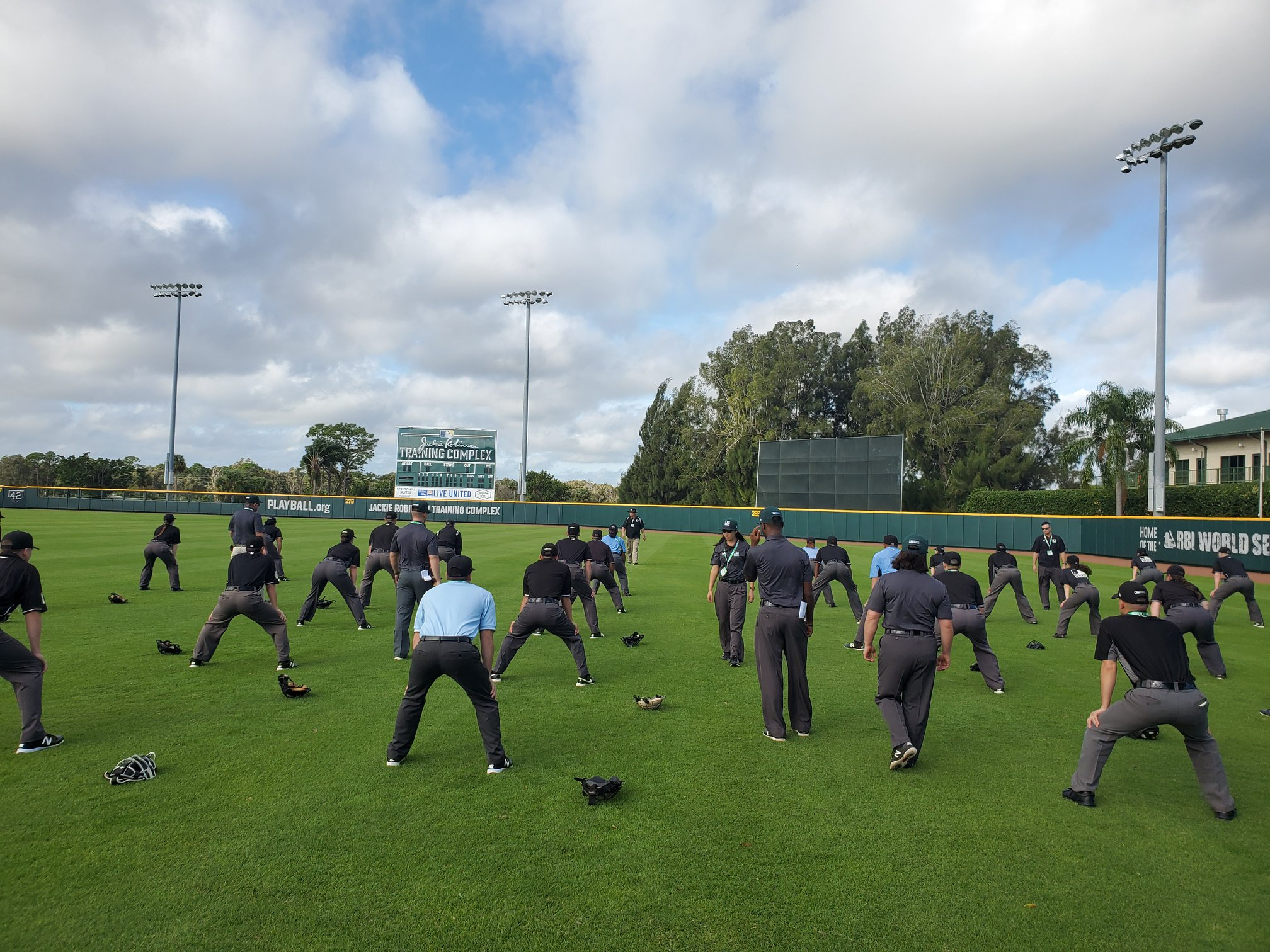 MLB Umpire Camps Training 9.0