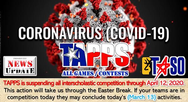 Coronavirus COVID-19 TAPPS Suspension 2.