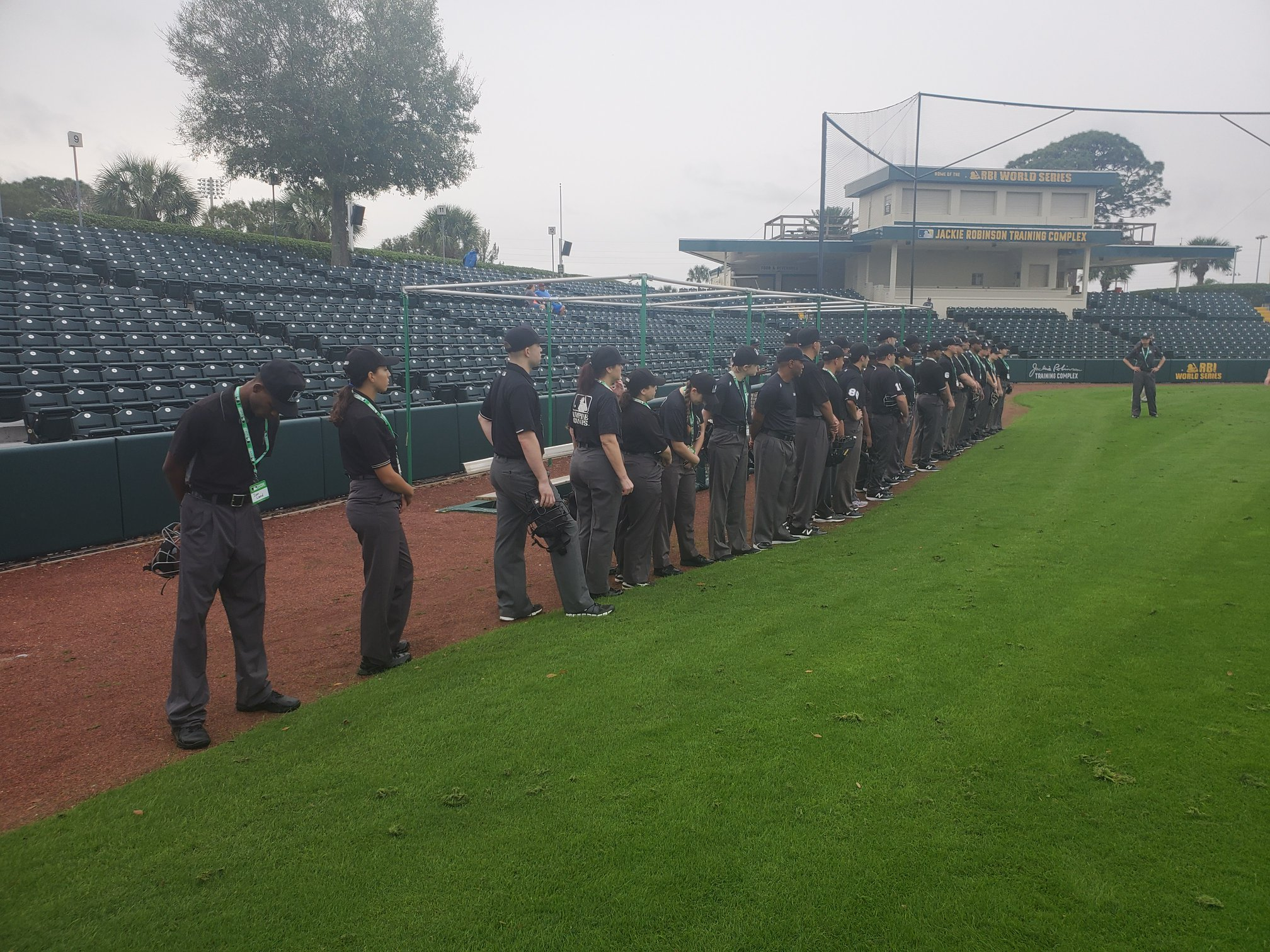 MLB Umpire Camps Training 4