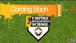 Coming Soon - UDS Umpire Development Sch