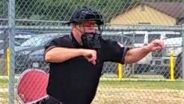 Chuck Marquardt Strike 3 Called, RH @ Fl