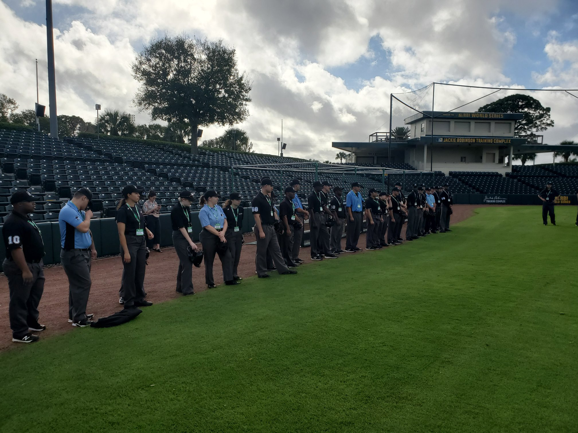 MLB Umpire Camps Training 7