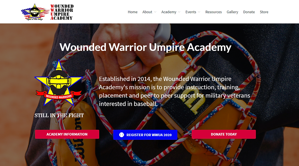 WWUA Wounded Warrior Umpire Academy 8.0.