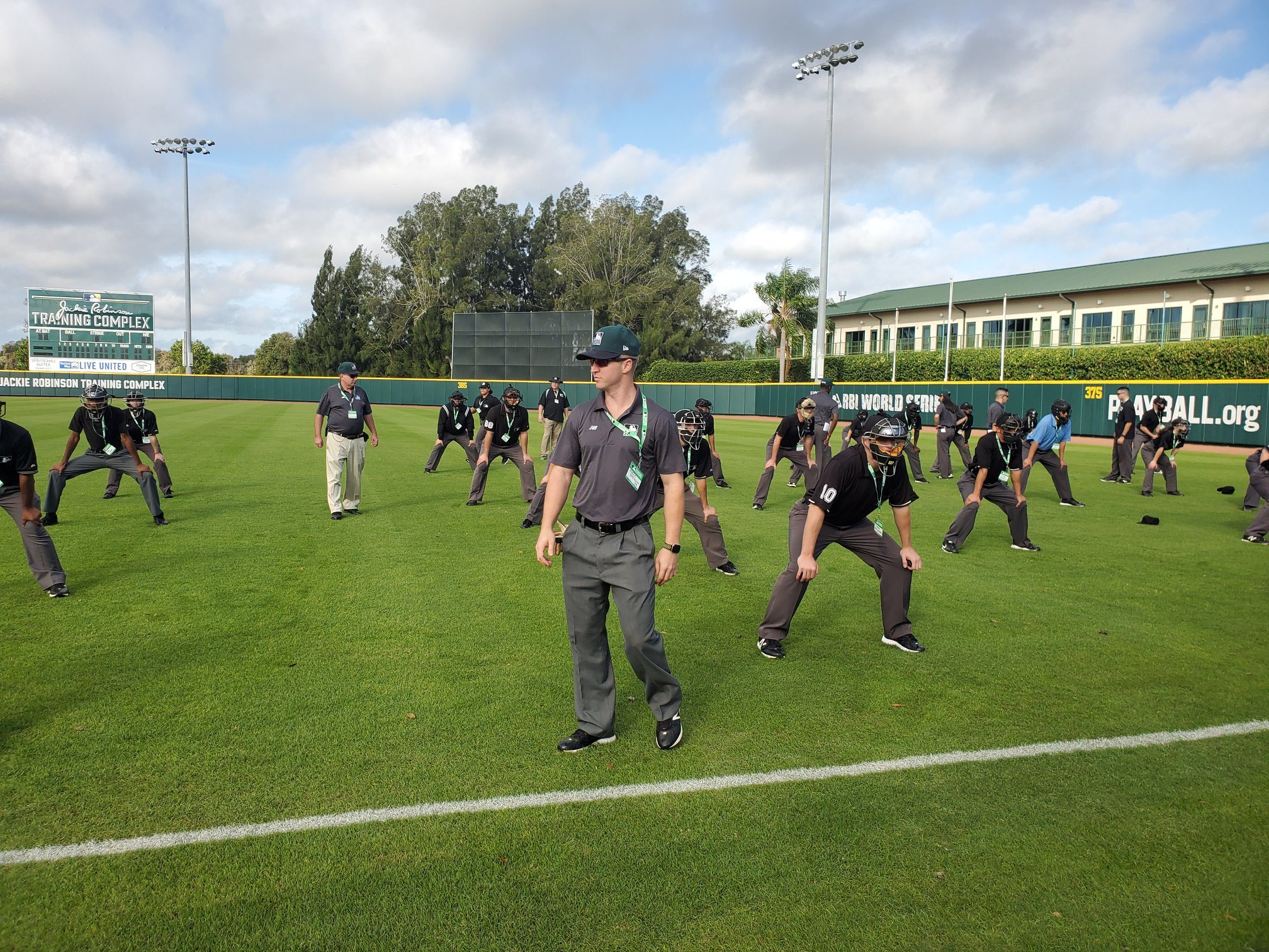 MLB Umpire Camps Training 8.0