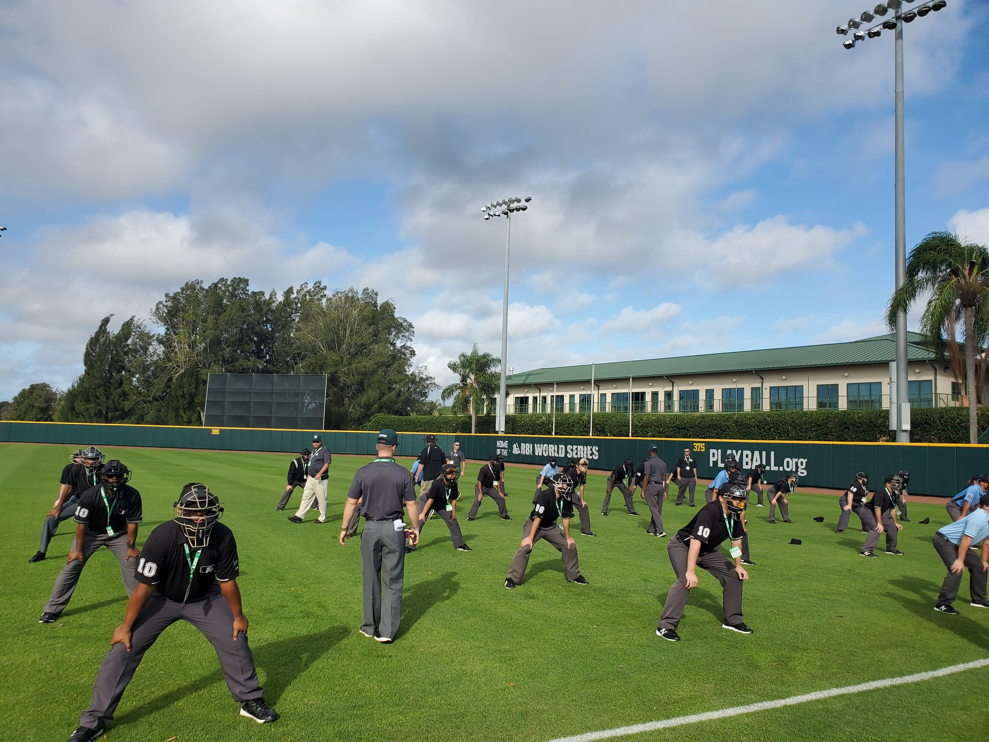 MLB Umpire Camps Training 7.0