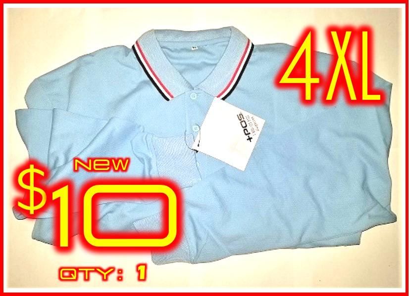 4XL│POS+ Long Sleeve Shirt Light RWB