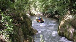 Rafting at Cascata delle Marmore