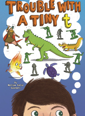Merriam Saunders: TROUBLE WITH A TINY t (ADHD): Cover Reveal!