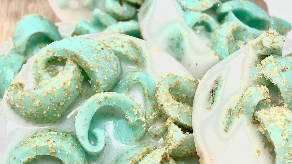 Mermaid Scales and Minty Tales