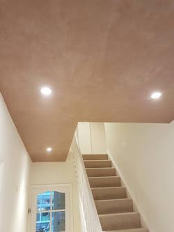 Plastered Hall Way