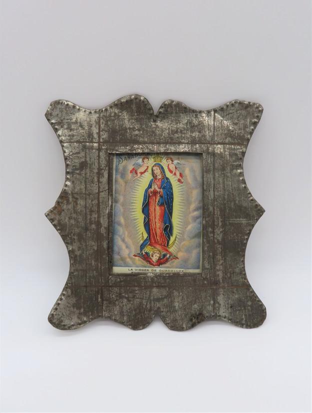 Isleta Tin Frame with Devotional Print