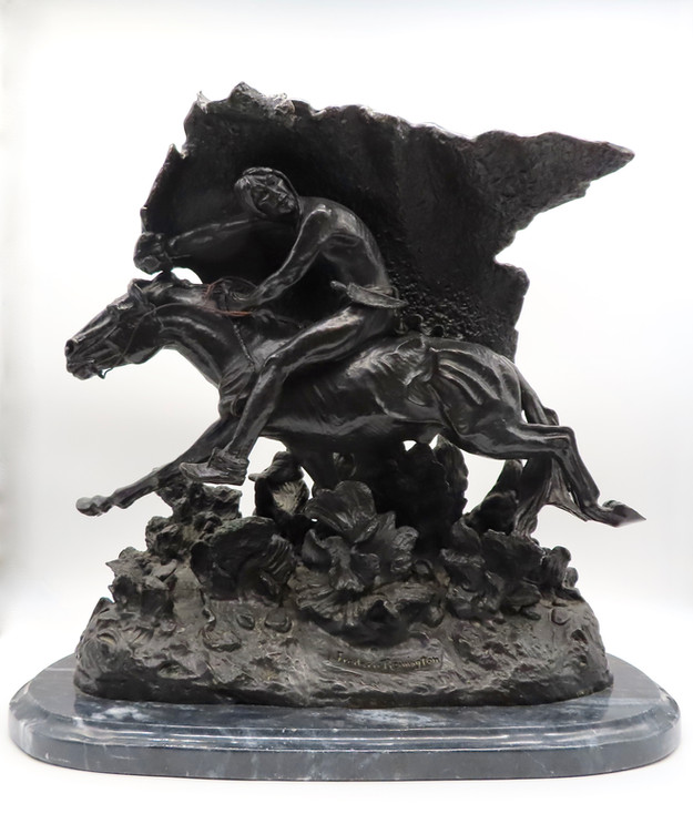 Bronze Sculpture after Frederic Remington