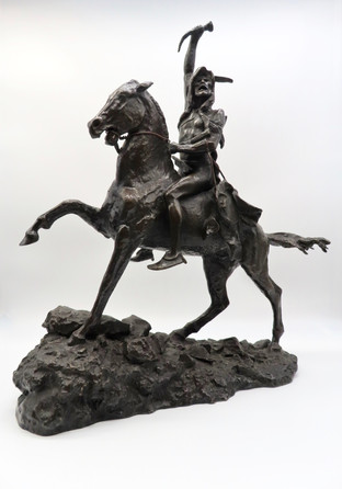 Bronze Sculpture after Frederic Remington (1861-1909)