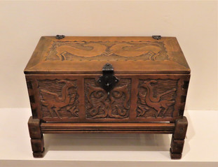 Northern New Mexico Chest on Stand