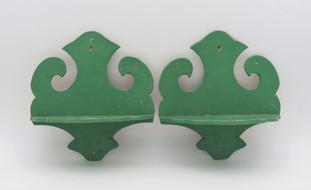 Green Repisa Shelves
