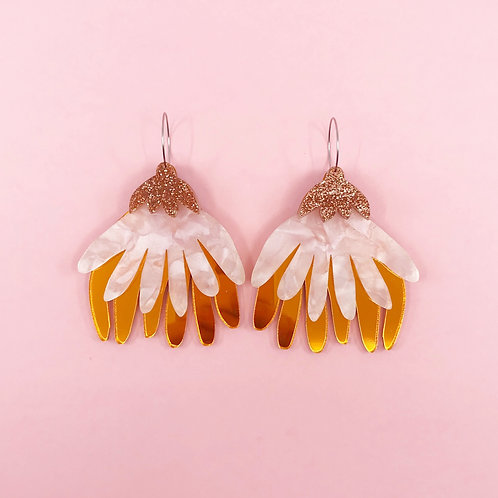 Anneka Mega Flora Earrings