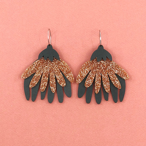 Eva Mega Flora Earrings