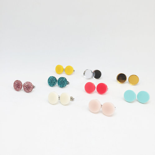 At the End of the Garden Blush Studs