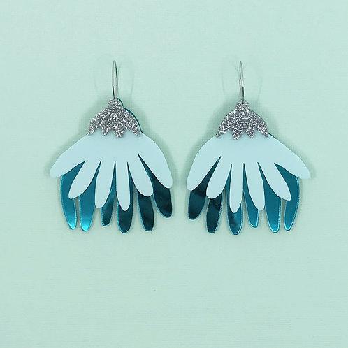 Greta Mega Flora Earrings