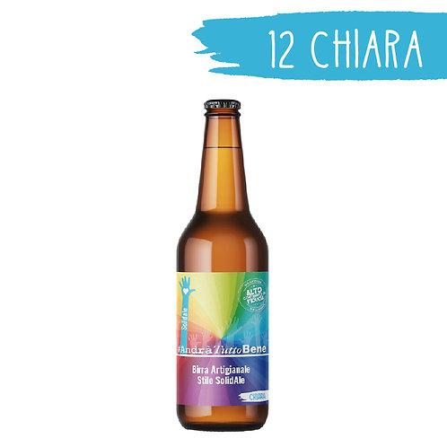 Birra Chiara - 12 bottiglie da 33 cl