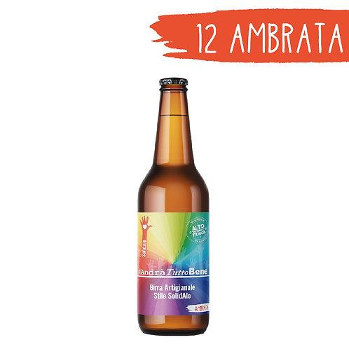 Birra Ambrata - 12 bottiglie da 33 cl