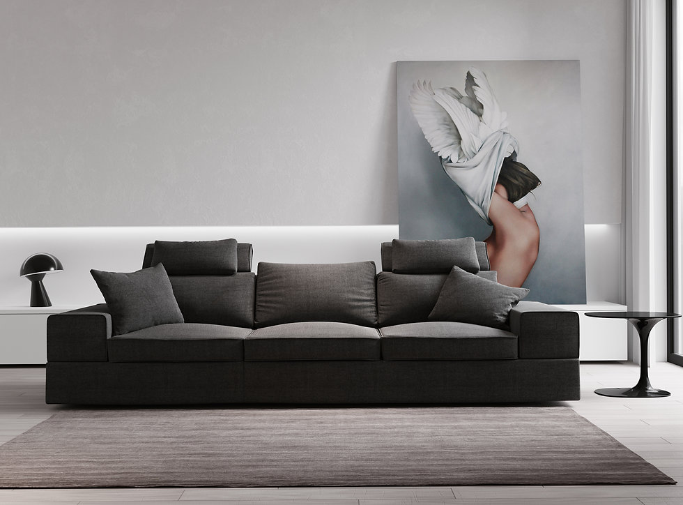 8k resolution Interior Couch Rendering